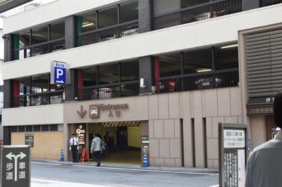 新宿三丁目周辺駐車場マップ