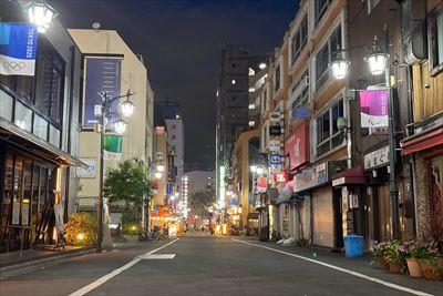 昼夜共にいつもの新宿三丁目に戻る様、一日も早い終息を心より願っております。